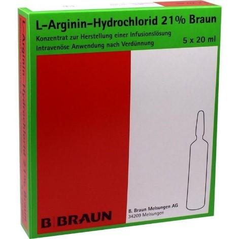 Л-Аргинин гидрохлорид (ампулы) — L-Arginin-Hydrochlorid (ampuls)