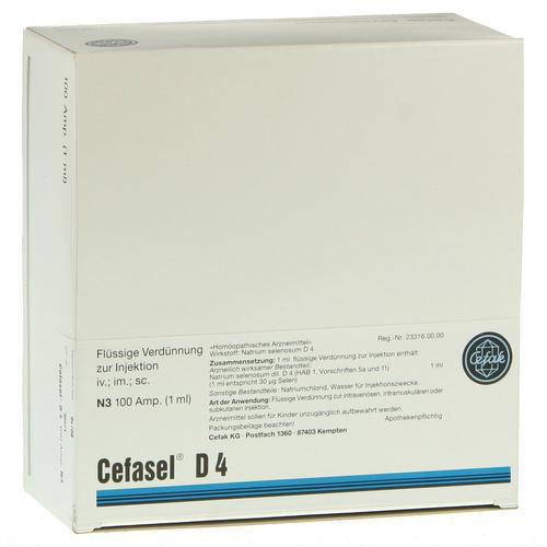 Цефасель (ампулы) — Cefasel (ampuls)