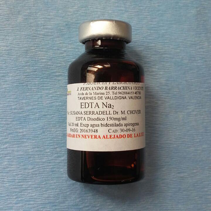 ЭДТА (ампулы — флаконы) — EDTA Na 2 (ampuls — bottles)