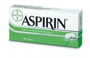 Аспирин из Германии