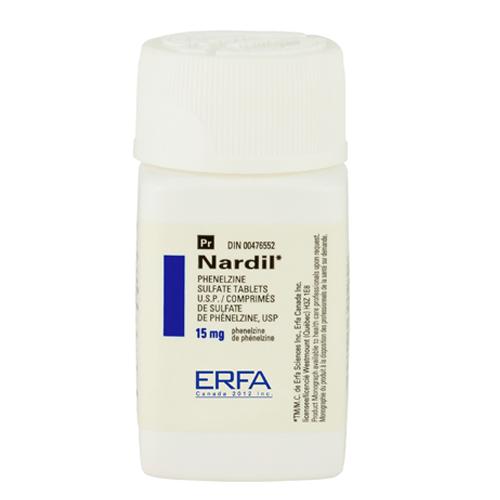 Нардил — Фенелзин (NARDIL — Phenelzine)