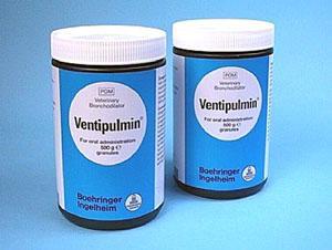 Вентипульмин гранулы (Ventipulmin Granules)