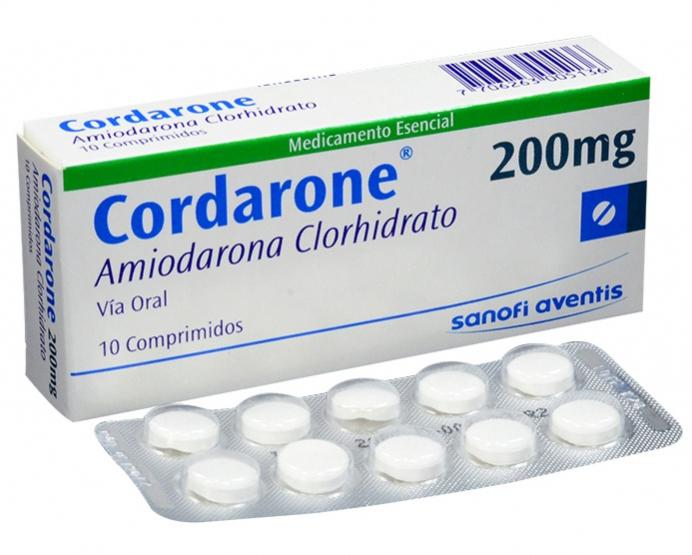 Кордарон — Амиодарон (Amiodarone)